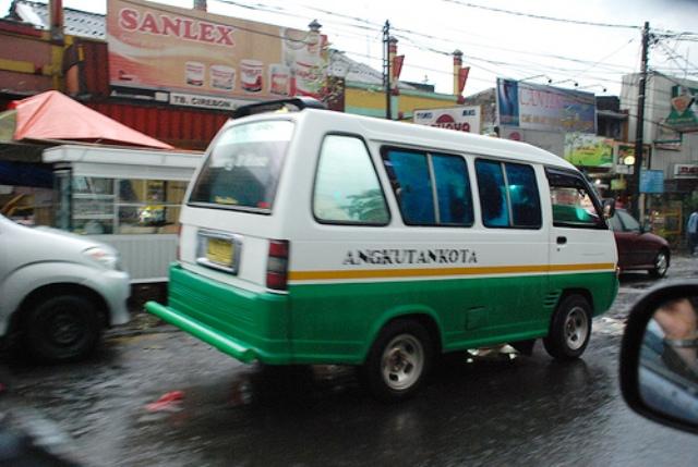 Getting around in Bandung