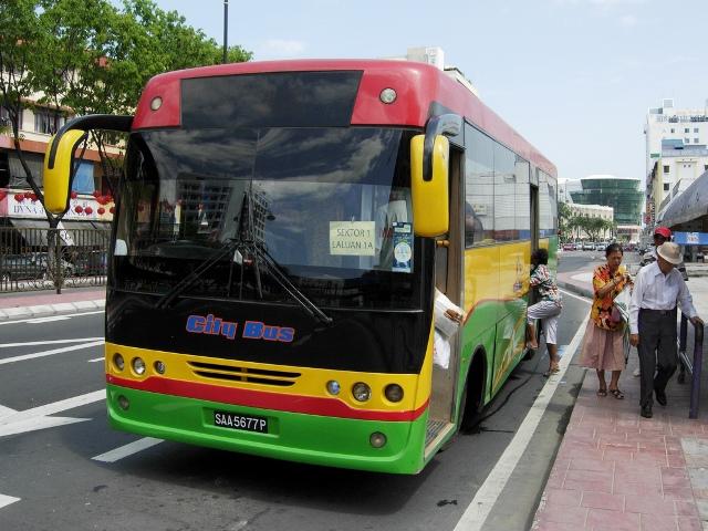 Getting around in Kota Kinabalu