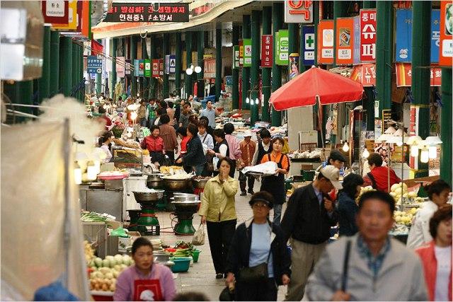 Shopping in Incheon