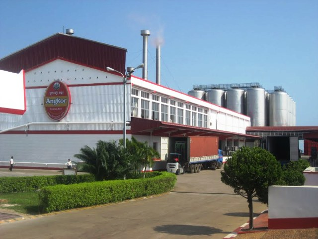 Cambrew Brewery in Sihanoukville