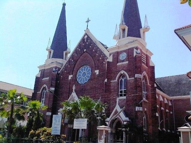 Gereja Kelahiran Santa Perawan Maria in Surabaya