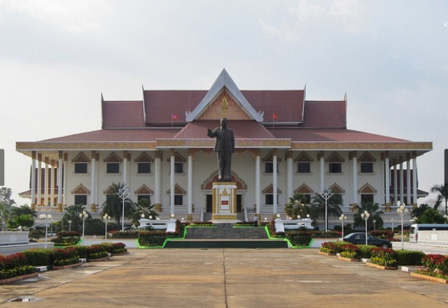 Kaysone Phomvihane Museum in Vientiane