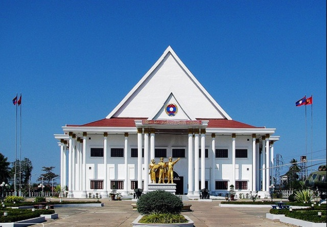 Lao Peoples Army History Museum in Vientiane