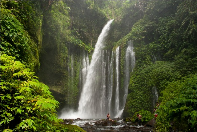 Air Terjun Tiu Kelep in Lombok