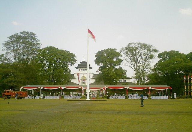 Gasibu Park in Bandung