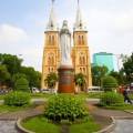 Notre Dame Cathedral in Ho Chi Minh
