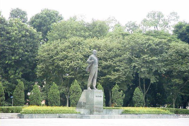 Lenin Statue Park in Hanoi