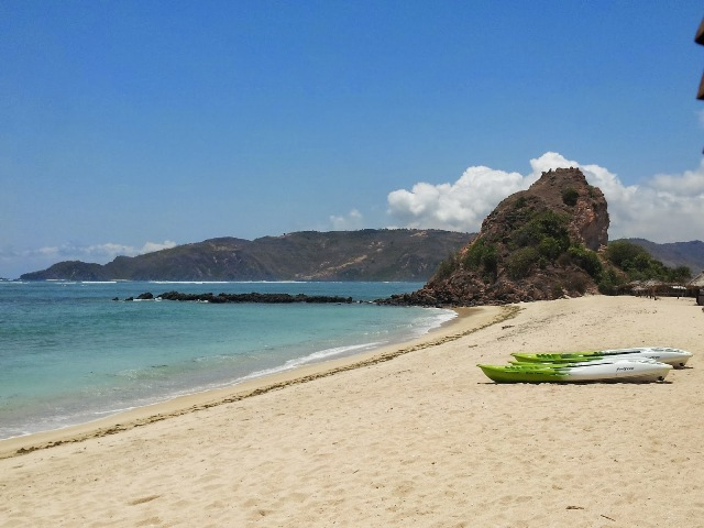 Novotel Beach in Lombok