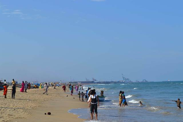 beach, chennai, india