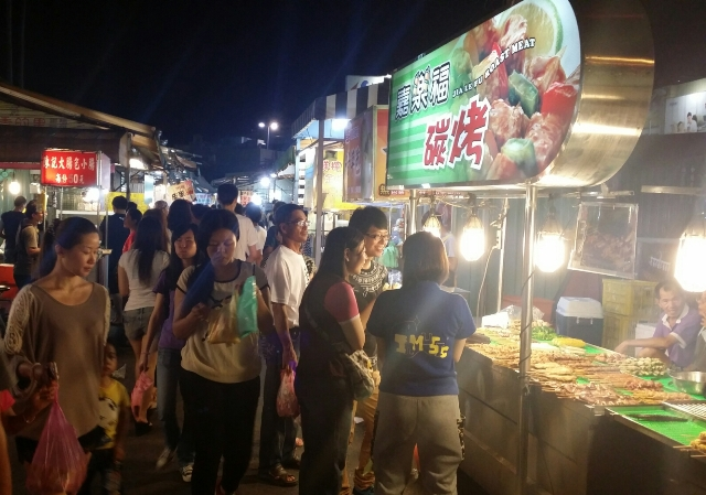 night market, taiwan, chiayi