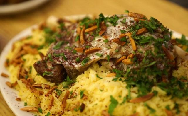delicious local food, amman, jordan