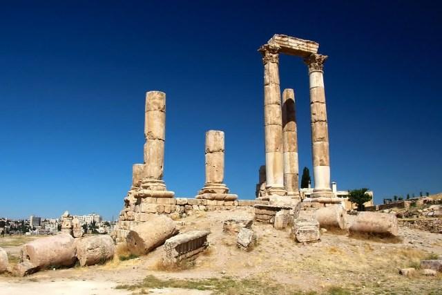 temple of hercules, jordan, amman