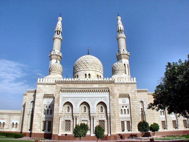 mosque, dubai, uae