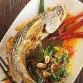 delicious thai food, local food