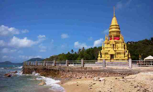 laem sor temple, samui, thailand