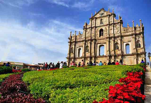 ruins of st. paul, attraction, macau