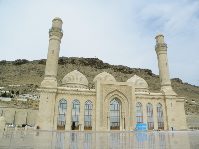 mosque, azerbaijan, attractions