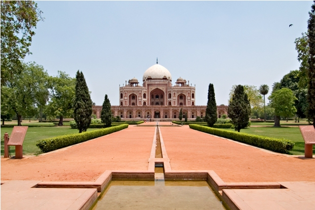 india, new delhi, humayun tomb