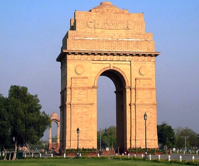india gate, new delhi, gate