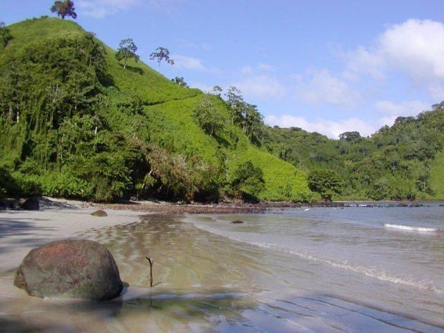 cocos island, guam, pacific