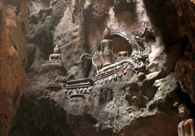 chaing dao cave, chiang mai, thailand