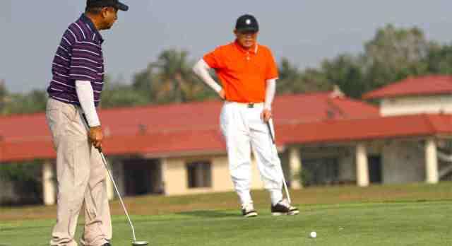 golf, activity, india, kochi