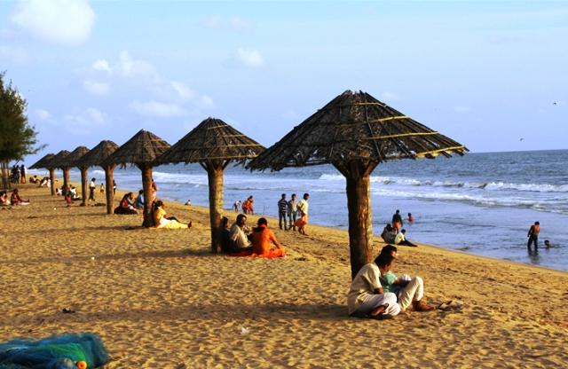 beach, cherai, india, kochi