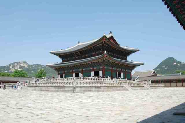 palace, korea, seoul, gyeongbok-gung