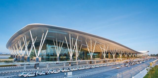 airport, india, bangalore,