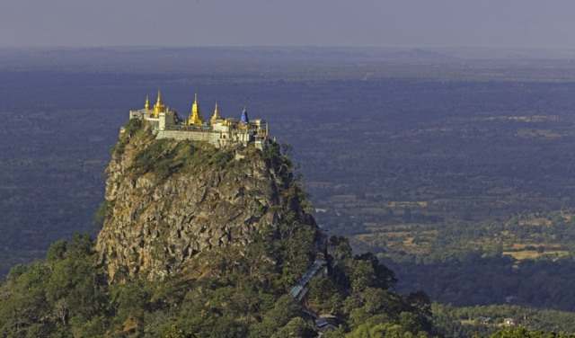 mount popa, attraction, myanmar