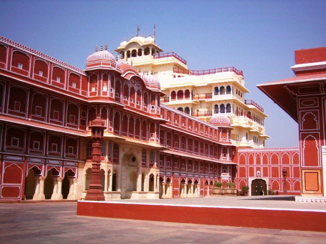 city, palace, jaipur, india