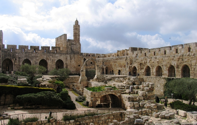 tower of david, israel, jerusalem