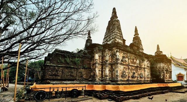 temples of chiang mai, thailand,