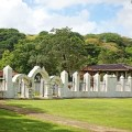 plaza de espana, guam, old structure in guam