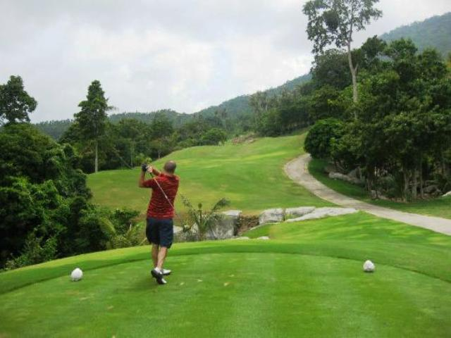 golf, golf course samui, thailand