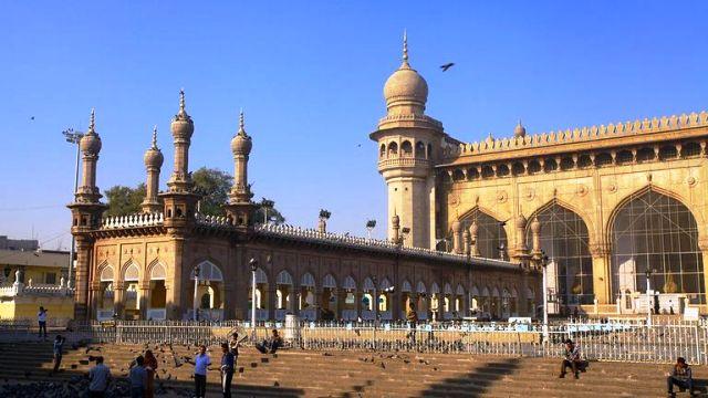 mecca masjid, india, hyderabad