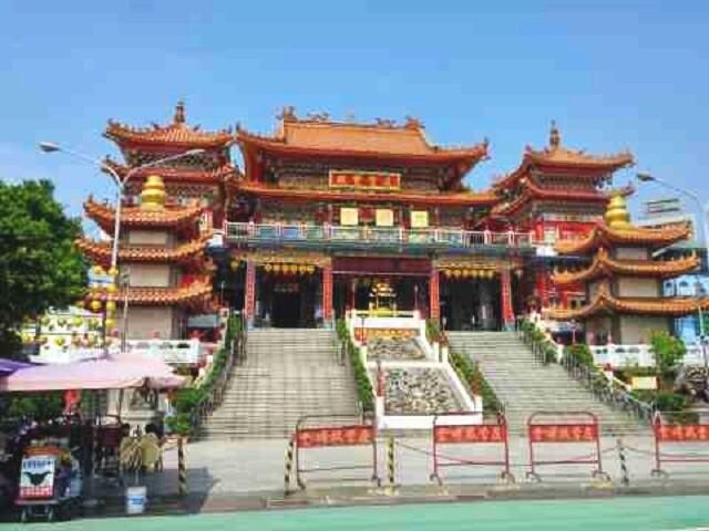 temple, tianhou, taiwan, kaohsiung