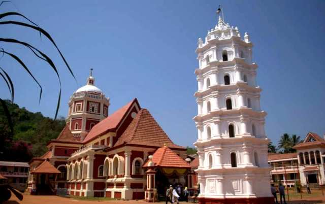 shantadurga temple, india, goa