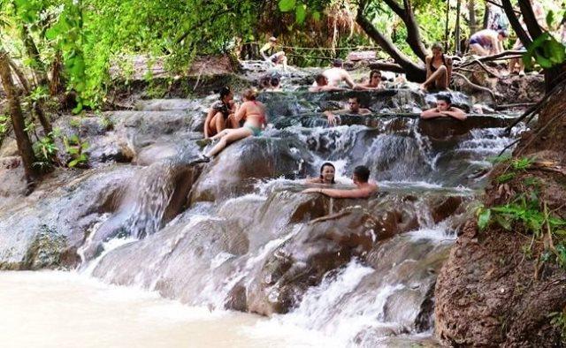 klong thom hot spring, thailand, krabi