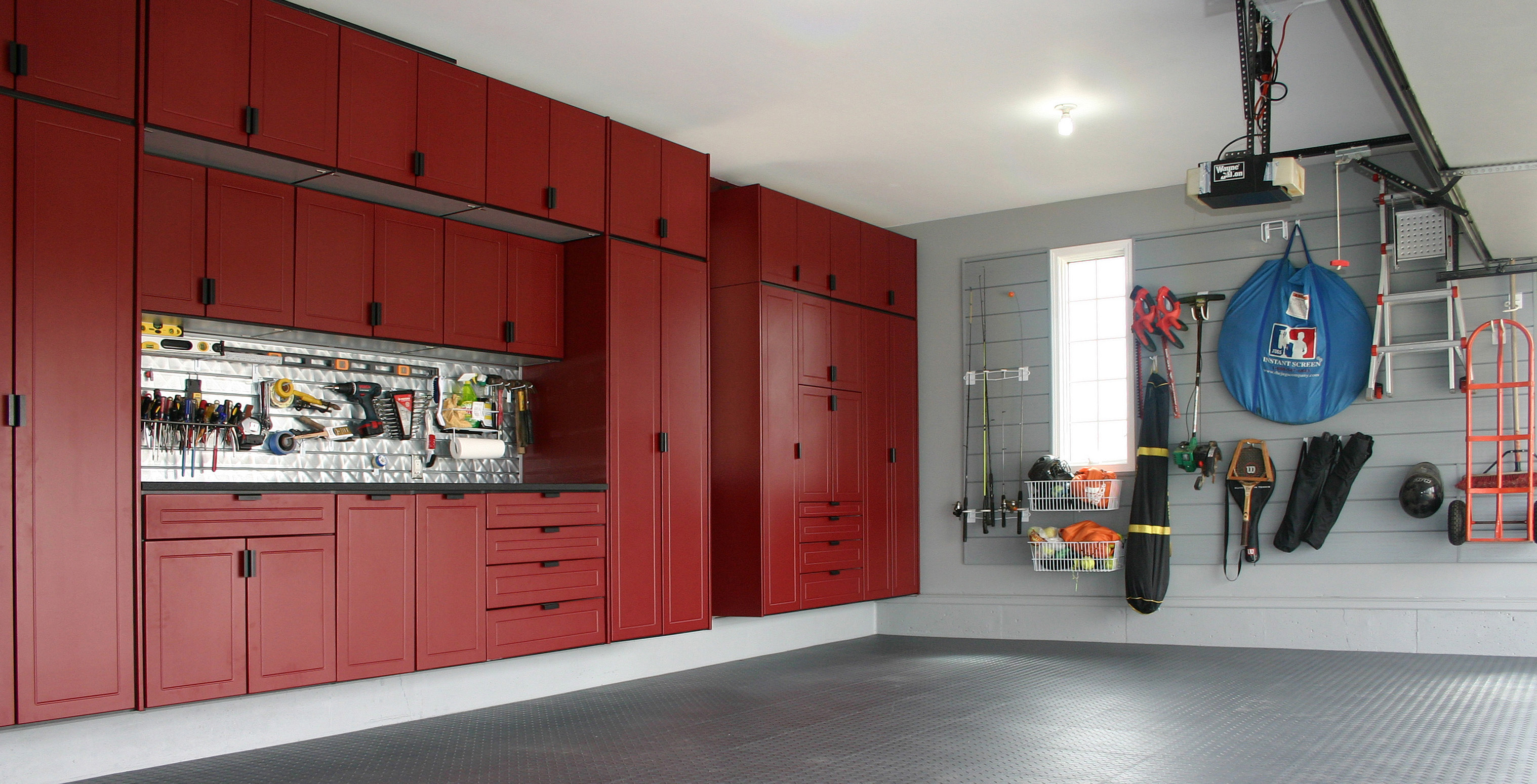Custom Kitchen Cabinets Houston Custom Garage Cabinets In Red Custom Cabinets Houston