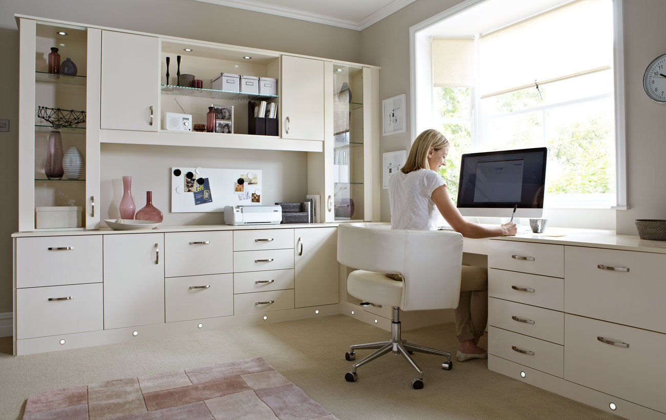 Home Office Cabinets Modern Desk With Cabinets Custom Cabinets Houston Cabinet Masters