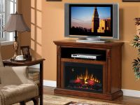 Double sided electric fireplace on Custom-Fireplace ...