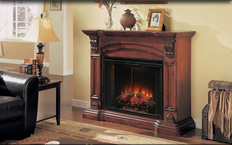 Refurbished Fireplaces Electric Wall Mounted Fireplace On Custom-fireplace