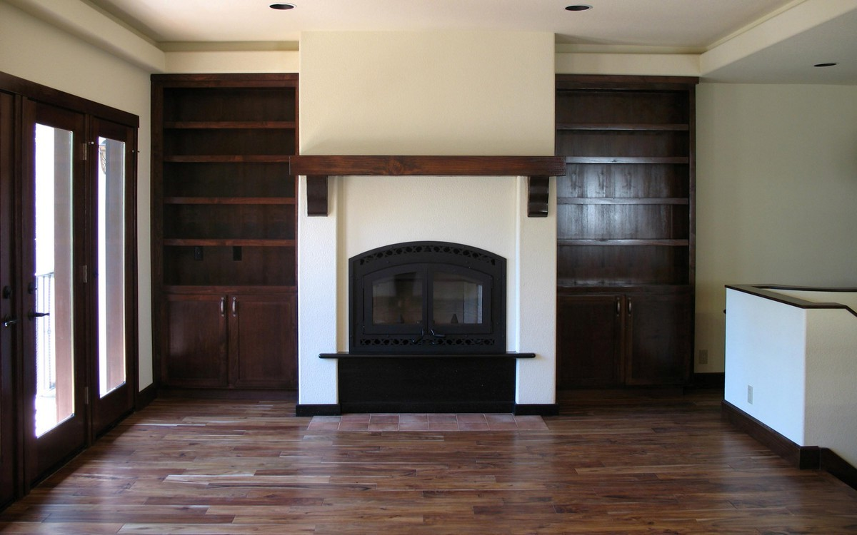 Cherry Fireplace Mantels How To Build A Wooden Mantel For Stone Fireplace On Custom