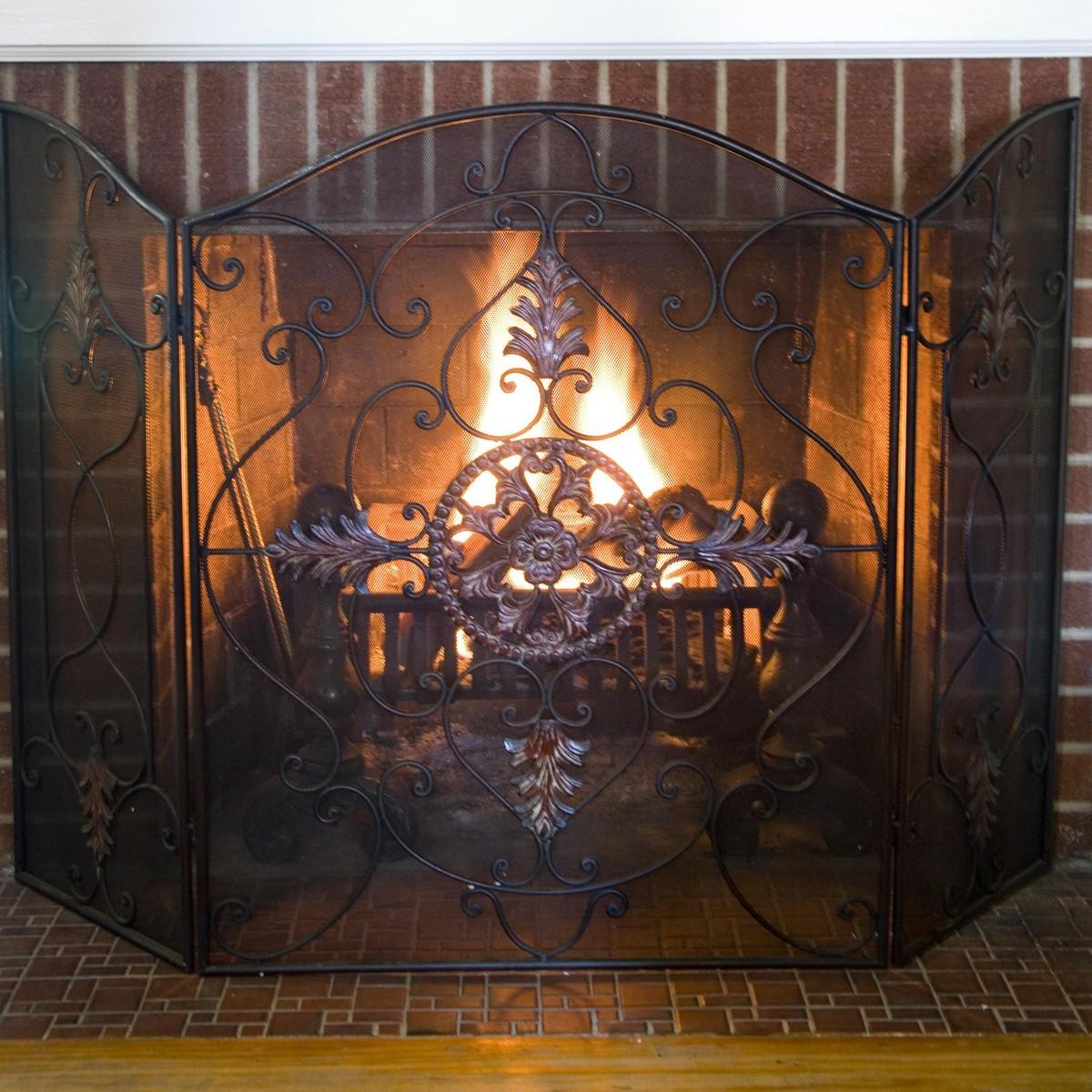 Stupell yorkie dog 3 panel decorative fireplace screen - Stupell Yorkie Dog 3 Panel Decorative Fireplace Screen Stupell Yorkie Dog 3 Panel Decorative Fireplace