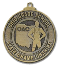 Custom Wrestling Medal