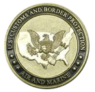 US Customs Custom Coin