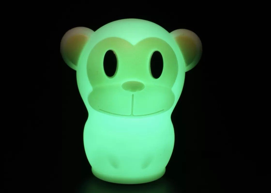 Animal Lamp For Nursery Led Warm Monkey Night Light Nursery Cute Animal Girl Night Light
