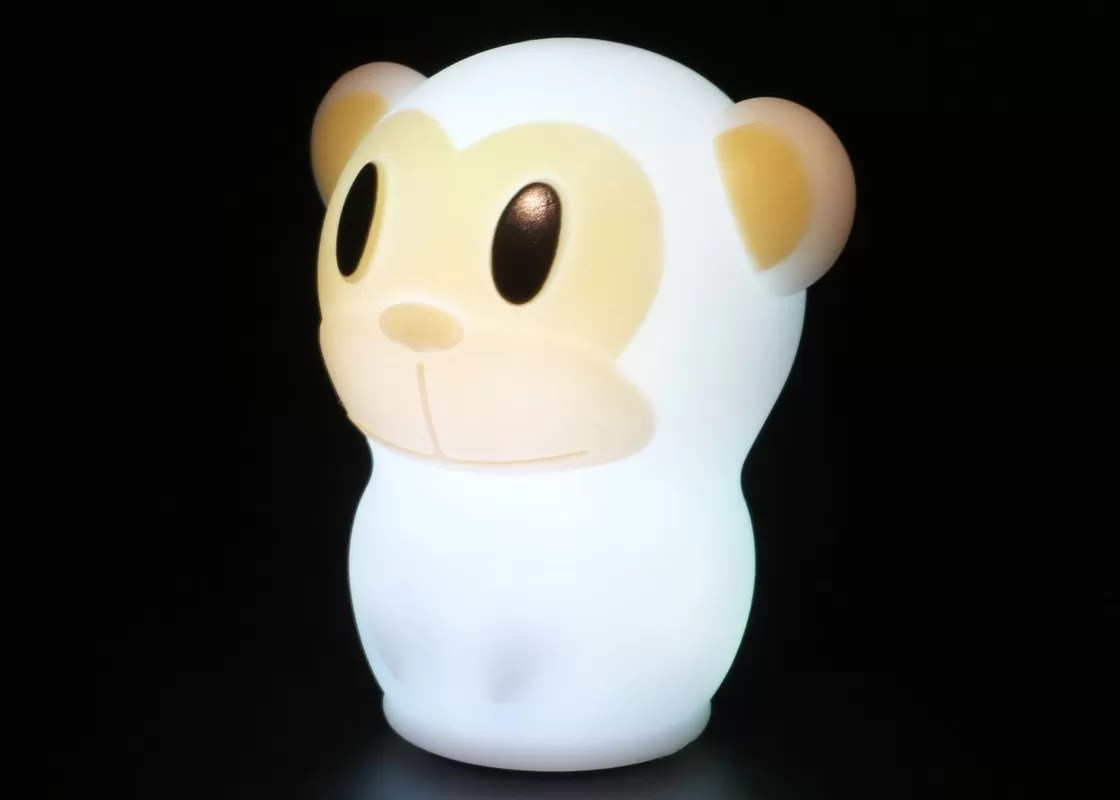 Animal Lamp For Nursery Portable Customized Colorful Monkey Night Light Nursery Kids Sleep