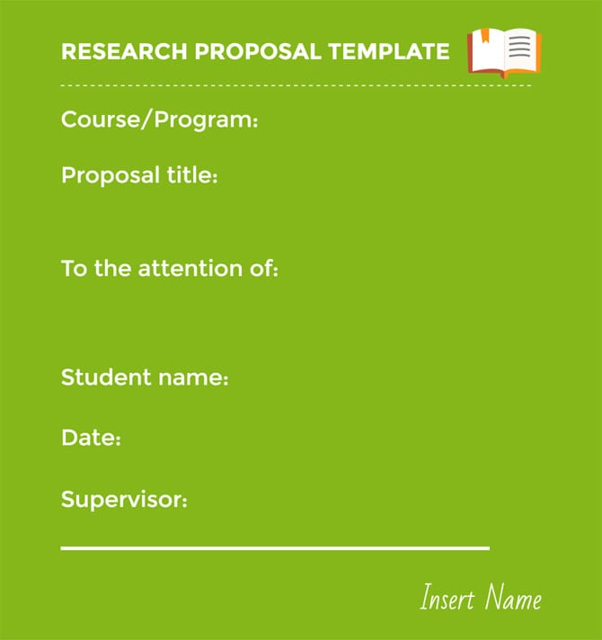 23 Best Strategies to Master Your Research Proposal - research proposal template